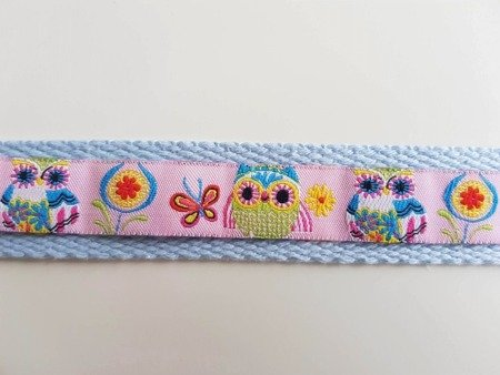 Fitted headband - baby blue