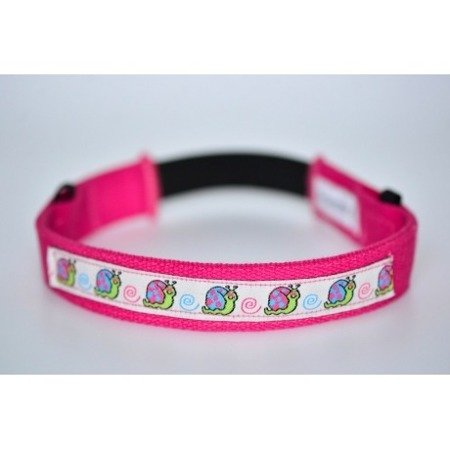 Fitted headband - pink